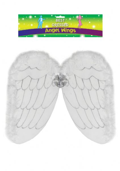 Adult Angel Wings - White
